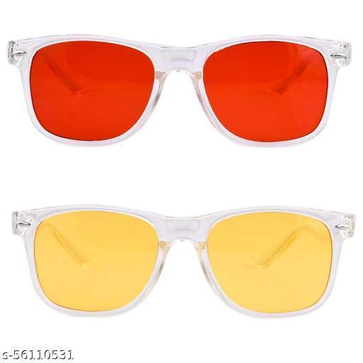 Transparent Wayfarer Combo sunglass by vc