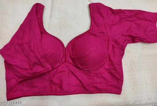 Pink Pure khadi sabyasachi cut blouse