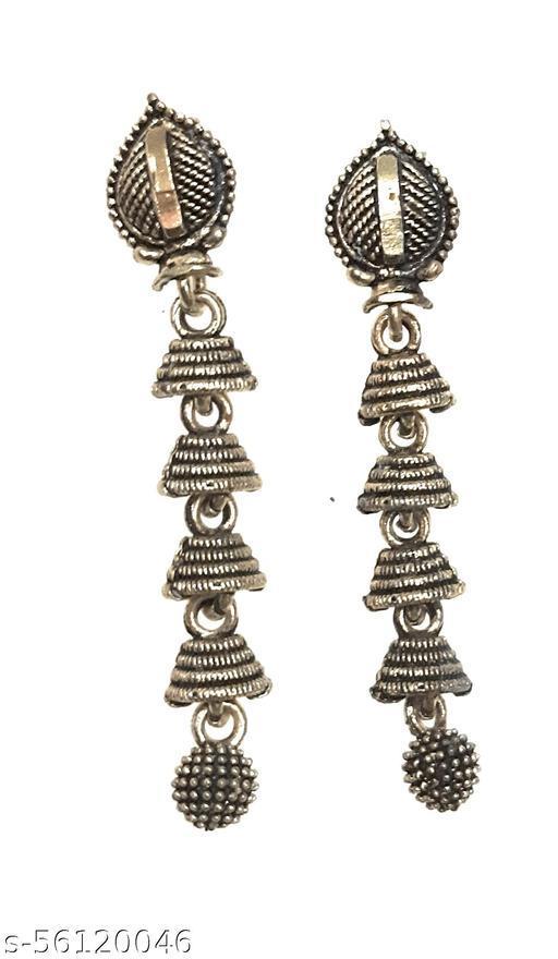 Gaurav Boutique Traditional Earrings For Women And Girls (Golden - ST141)