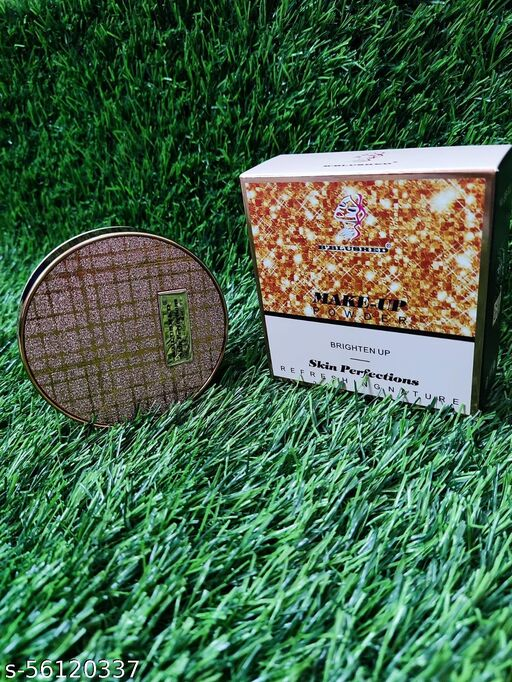 B BLUSHED 2 IN 1 MAKE_UP POWDER BRIGHTEN UP & SKIN PERFECTIONS REFRESHING NATURE COMPACT.