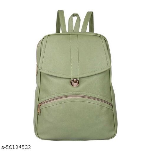 Green color Trendy and Stylish Handbag for Girls for Teachers / College / Fund / Study / Office use Messenger Bag