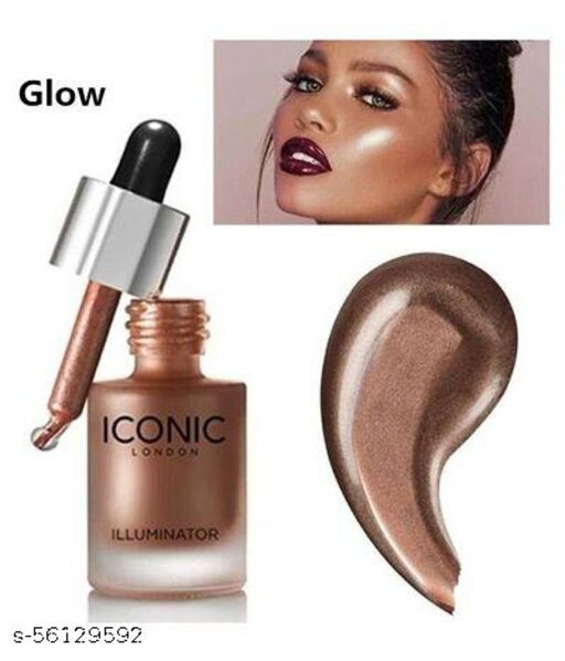 illuminator liquid highlighter face and body waterproof 3D glow bridal makeup Highlighter -Glow