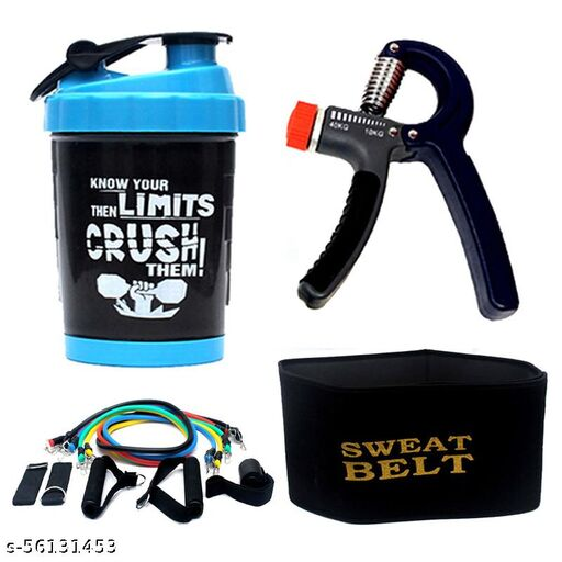 Rio Port Sweat Belt, Shaker and Power Grip + Five Band