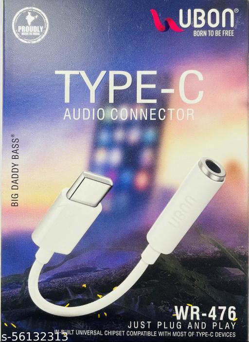 UBON WR- 476 Type- C Audio Connector