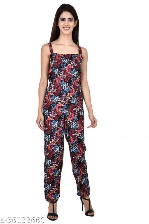 Monal Womens lite Maxi Jumper Jumpsuit Multicolour Trendy Fashionable