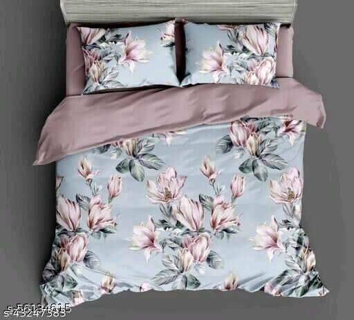 bedsheets with pillow cover king size
