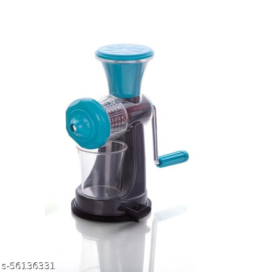 HUDINI PRODUCTS Fruits and Vegetable Non Electrical Nano juicer in BLUE.