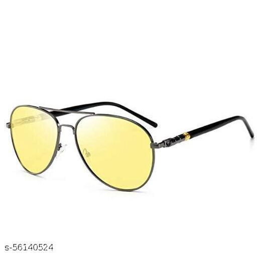 Polarized  Yellow sunglasses Aviator   Unisex