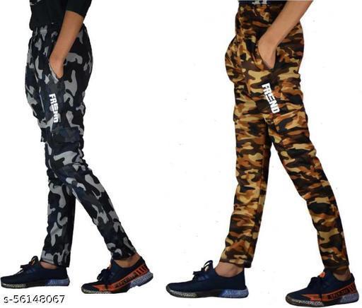Camouflage Men Multicolor Track Pants