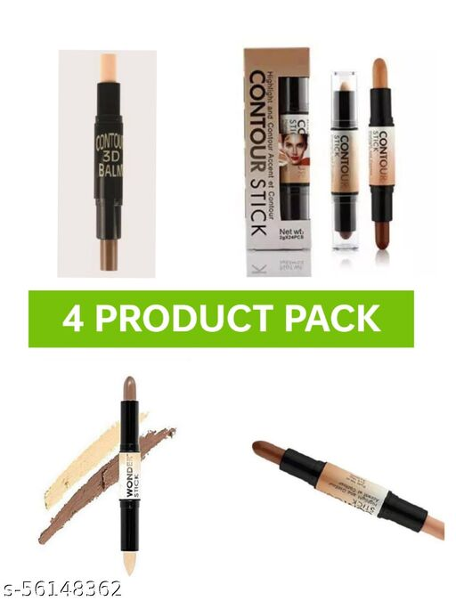 contour stick 2 in 1 highlighter pack of 4