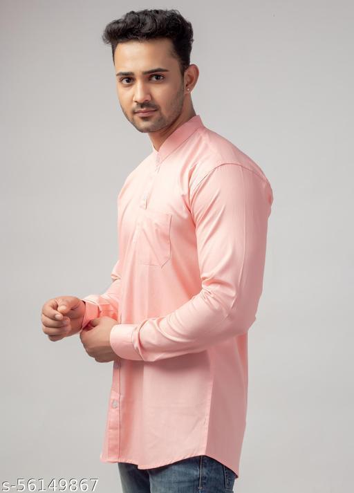 Port Allen Cotton Solid Shirt For Mens