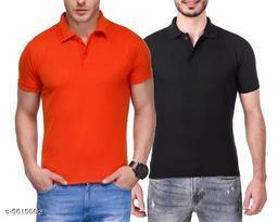 Attractive Poly Cotton Men's Tshirts