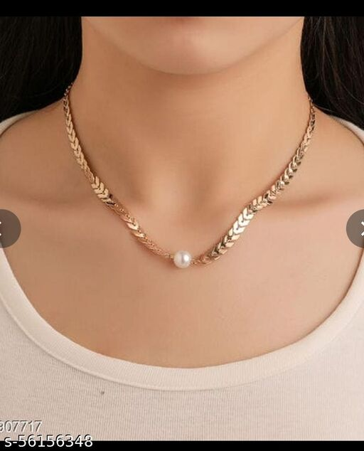 fashionable jewellery gold neacklace chain