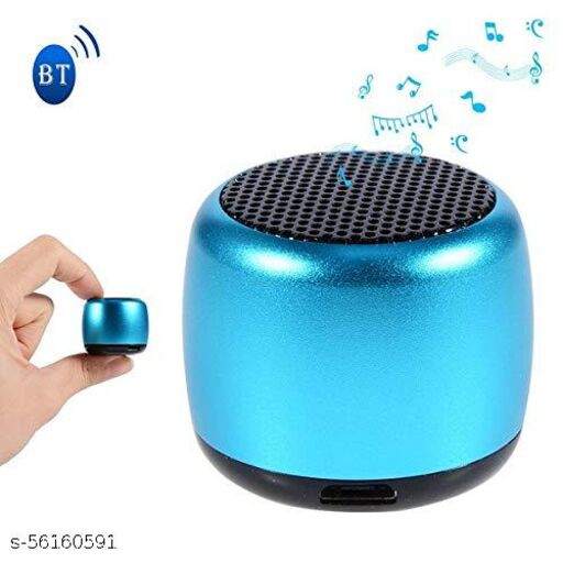 Ultra Mini Boost 3 Watt Truly Wireless Bluetooth Portable Speaker (MultiColor)