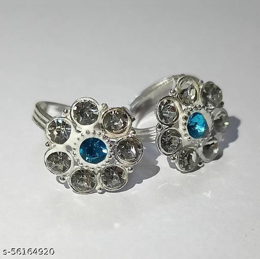 Toe Ring Bichiya Silver Set
