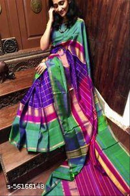 Uppada Tripura Silk Saree