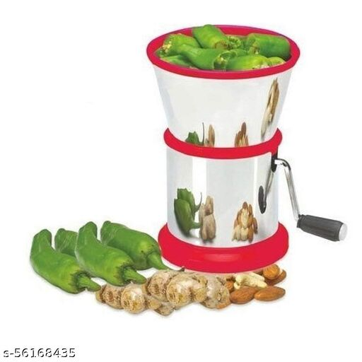 Stainless Steel Vegetable Chilly and Dry Fruit Cutter - Chilly Cutter Multicolor
