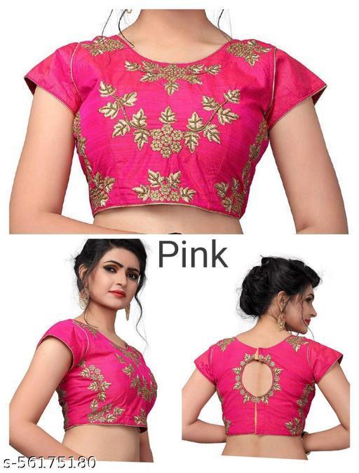 Khatli Work Blouse Pink