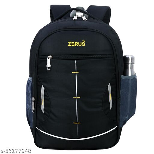 """Large 45 L Laptop Backpack 4 Compartment Premium Quality, Office/College/School Laptop Bag for upto 15.6"""" Laptop with internal organiser"""