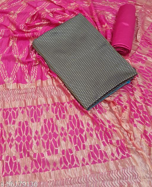 Ek-Pal New Designer Banarasi Jacquard Silk Suit