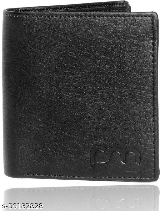 Men Casual, Ethnic, Evening/Party, Formal, Travel, Trendy Tan Artificial Leather Wallet - Regular Size  (7 Card Slots)