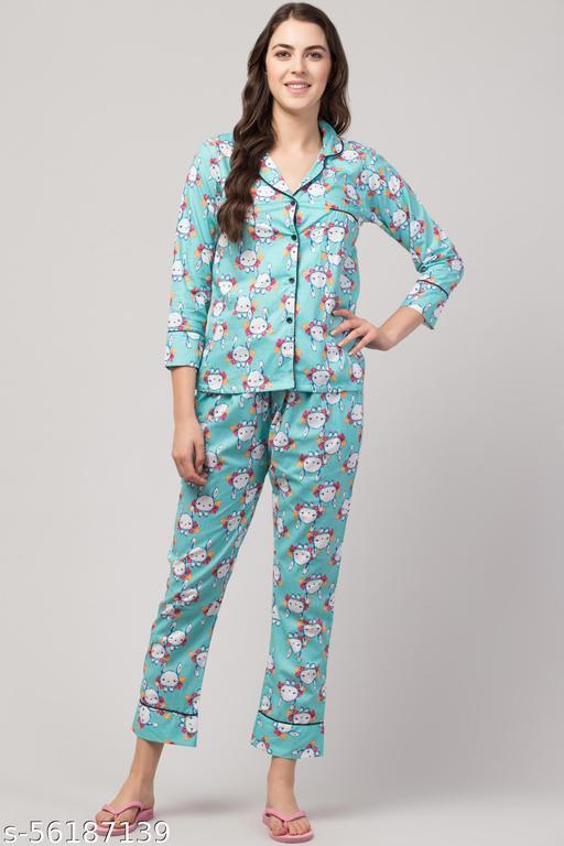 Trendy Alluring Women Nightsuits