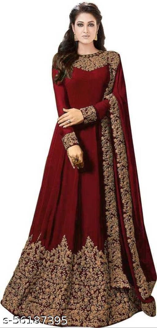 Alisha Voguish Semi-Stitched Suits