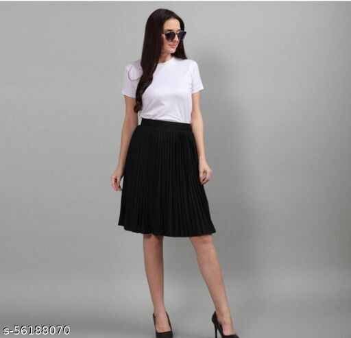 imported plated skirt