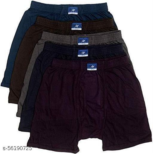 VIP Unique Men's Cotton Trunk Pack of 5 (Size -85cm) in