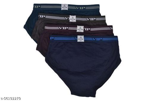 VIP Men's Spector Brief (Multicolour, 100 cm/2XL) -Pack of 4