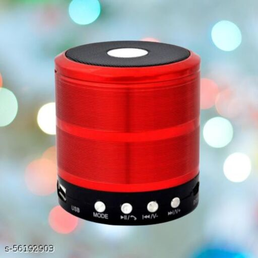 887 mini speaker red+black r1