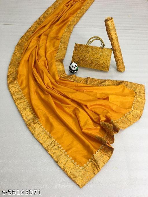 fancy saree with bag