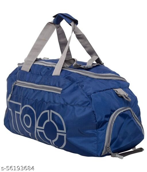 T90 Duffel Bag Cum Backpack With Shoe Compartment