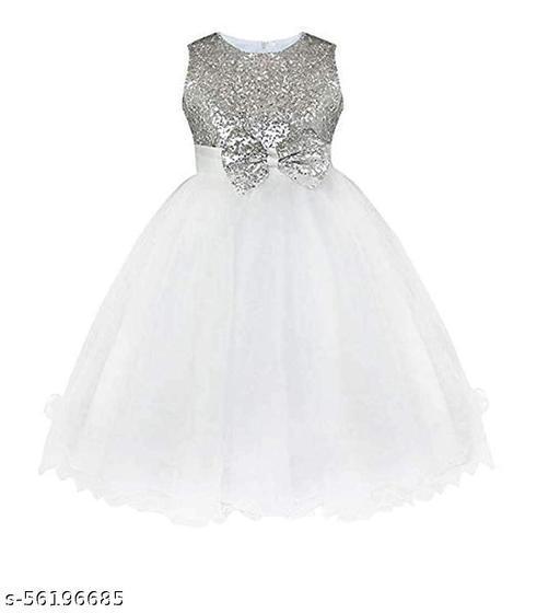 Klowvila Fashion Girls Maxi/Full Length Party Gown (Sleeveless)