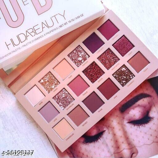 Huda Beauty Nude 18 Shades Eyeshadow Palette GNC