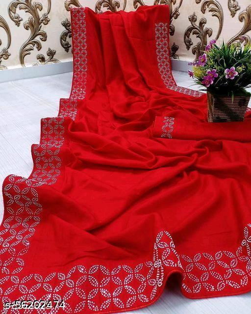 HEER RED SAREE