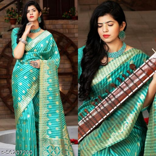 Banarasi Silk saree.