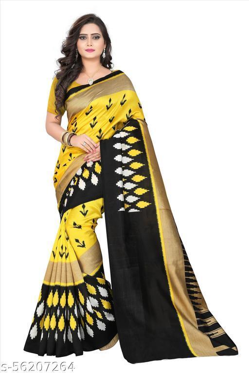 Bhagalpuri Art Silk Saree