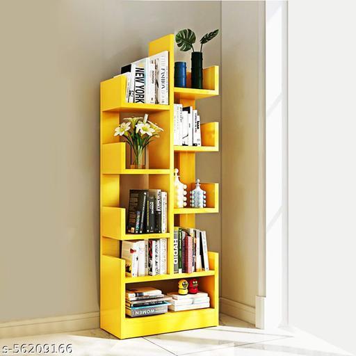 MDF Wood DIY Book Storage Display Rack Organiser