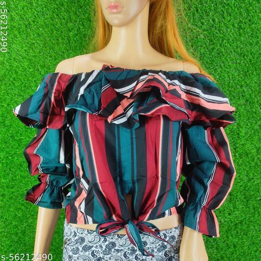 Trendy fashionable crop top