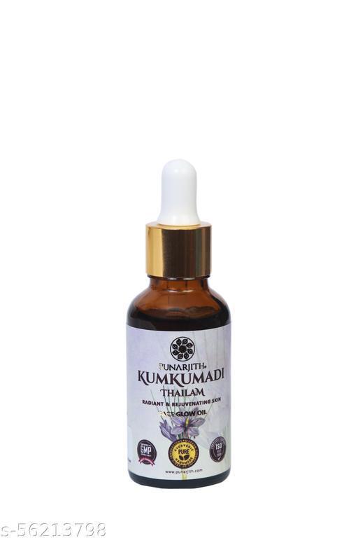 PUNARJITH - Kumkumadi Taila Face Glow Oil