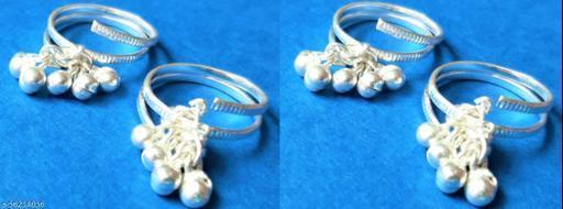 Elite Bejeweled Women  Toe Rings