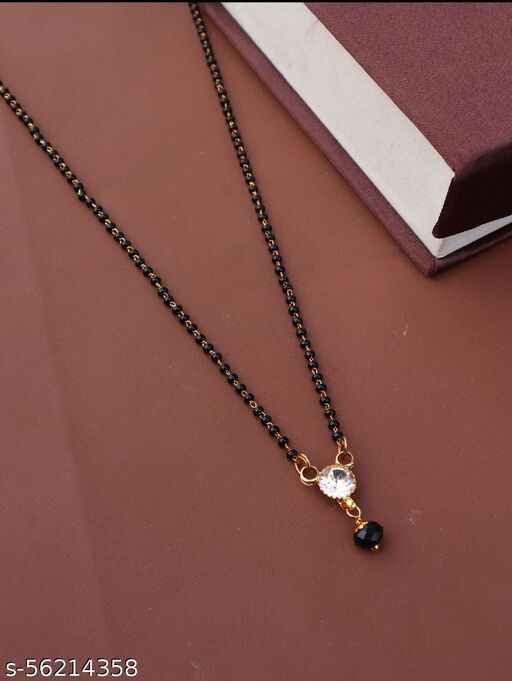 jewellery traditional Mangalsutra For Women Alloy Mangalsutra