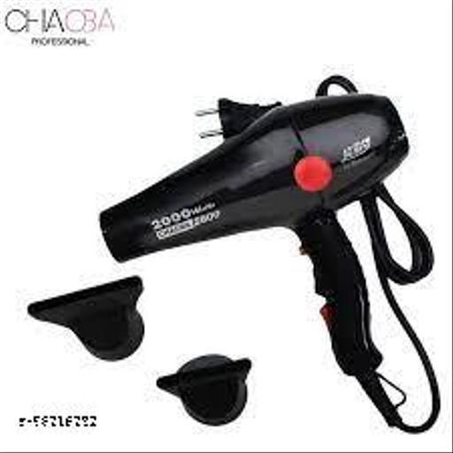 Choba Professional Multi Purpose Elite Hair Dryer 2800 (Black, 2000 Watts, Hot and Cold)