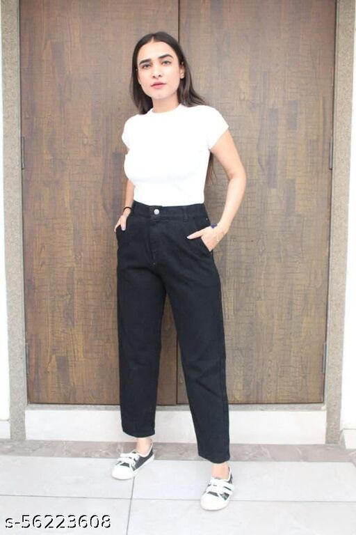 High mom Fit Jeans