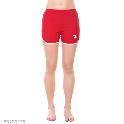 Cotton Shorts Combos for Women ((Pack of 1)