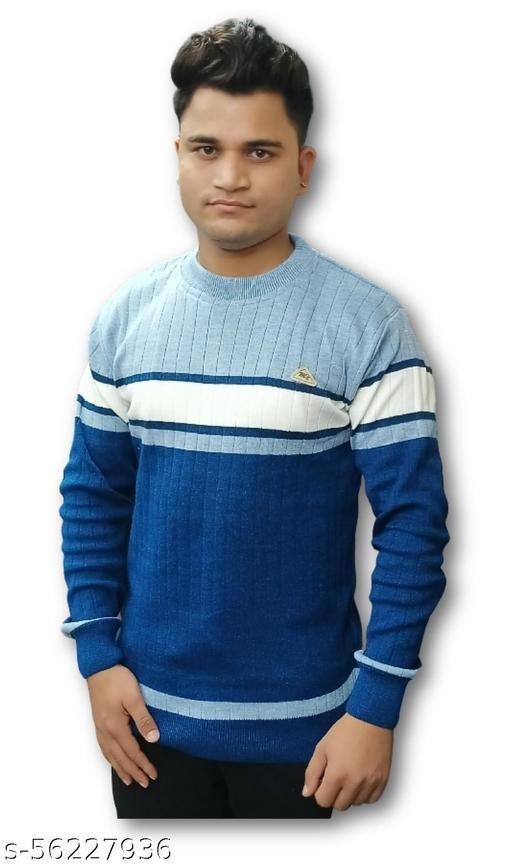designer men's full sleeve sweater