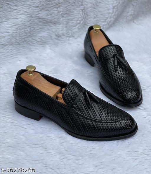 ZARA lack Tassel Woven Moccasins Loafer Shoes Men