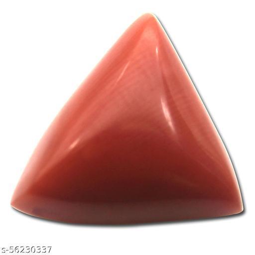 Maanvi Gems & Stones Natural Red Coral Moonga Original Certified 6.66 Ratti with Lab Report Certificate for Men & Women