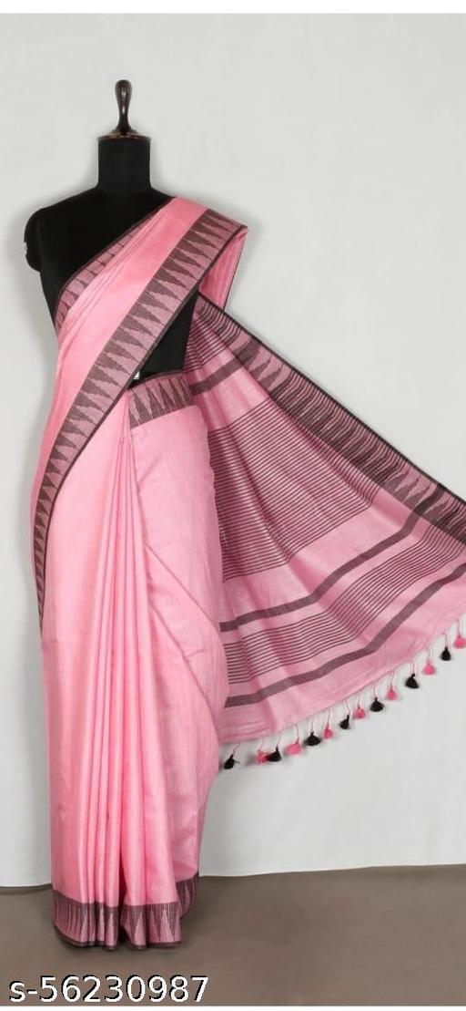 soft silk saree with temple border design